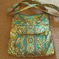 Vera Bradley hipster bag Vera Bradley hipster in good condition. Non-smoker house. Vera Bradley Bags Crossbody Bags