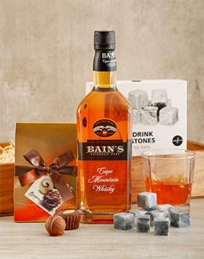 Fine Wine and Spirits - Spirits: Bains Whisky Crate! Best Dad Gifts, Cool Gifts, Fathers Day Gifts, Gifts For Dad, Man Crates, Fine Wine And Spirits, Whisky, Vodka Bottle, Liquor