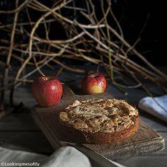 crispy apple cake #cookingmesoftly #applecake #cake #apple #crispy #delicious
