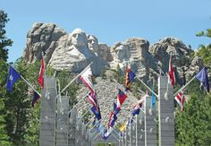 Mount Rushmore National Memorial. Location: South Dakota.   Tour: National Parks of America. Visit AAA Vacations®   Picture courtesy of Member Choice Vacations