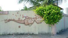 A cultura nordestina inspiradora dos trabalhos do brasileiro Luz. #Graffiti #StreetArt #Brazil
