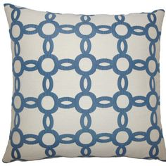 The Pillow Collection Yuya Geometric Throw Pillow Size: