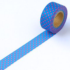Neon Blue Dot Washi Tape Cutie – omiyage