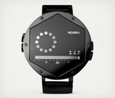 Nooke Zex Hexagonal Face Wrist Watch Black http://coolpile.com/style-magazine/nooke-zex-hexagonal-face-wrist-watch/ -  via coolpile.com   #Accessories #LED #Watches #coolpile