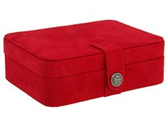 Mele & Co. Giana Plush Fabric Jewelry Box with Lift Out Tray (Red) Mele http://www.amazon.com/dp/B0014DOA6M/ref=cm_sw_r_pi_dp_AOQlvb1HMW30P