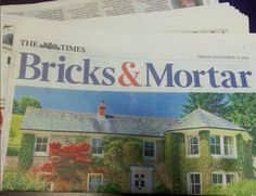 Our EcoSmart Fire fusion is featured in Bricks & Mortar in The Times!