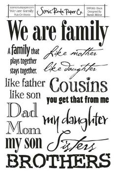 Image detail for -Family quotes and sayings