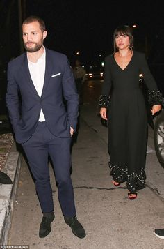 Talented duo: The Irish actor, 34, attended with his wife of three years, English actress Amelia  who he shares two children with