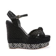 Espadrille negro Magrit listado Zapatos De Salón dd564ea1336