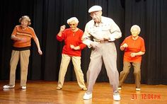 old people dancing - Google Search