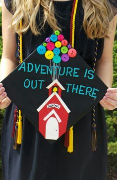 My UP inspired Graduation Cap! Pefect for Education Majors and future teachers!