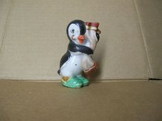 Vintage Occupied Japan Penguin with Towel Figurine Cute | eBay