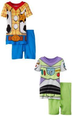 Disney Boys 2-7 Buzz and Woody Sets