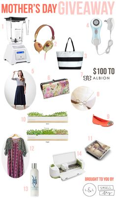 Enter to win this Mothers Day giveaway from the always awesome, @Small Fry !! These ladies know moms!
