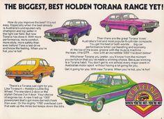 Vintage car advert  - Holden - Torana    http://www.flickr.com/groups/16024233@N00/pool/