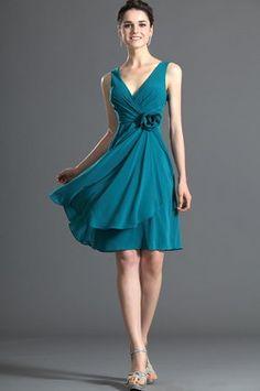 eDressit Recien Llegado Atractivo Azul Largura Vestido de Dama de Honor (07120705) - EUR 47,99