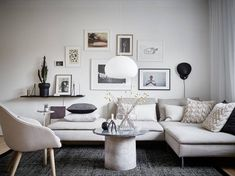 rental apartment living soderhamn sofa by voyage in design My Living Room, Home And Living, Living Room Decor, Living Spaces, Small Living, Modern Living, Home Theather, Söderhamn Sofa, Ikea Couch