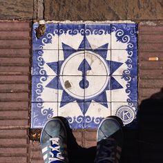 Love this floor piece from Salta, Argentina