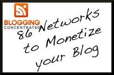 Affiliate Network List