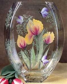 Hand-Painted Glass Crafts