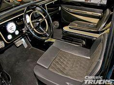 1972 Chevy Truck Interior