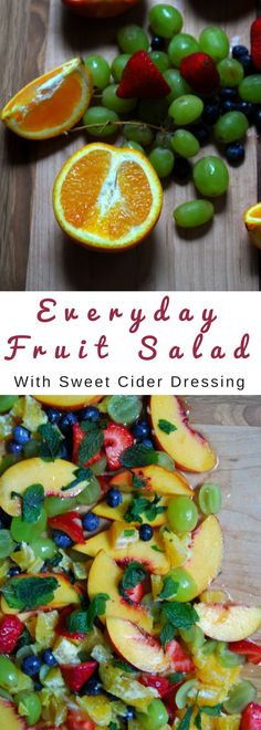 I started making a weekly fruit salad! This one is amazing!