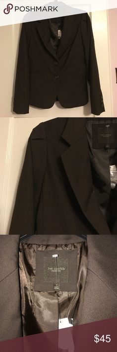 NWT! The Limited  blazer! I would say chocolate color blazer with 2 bottons at the front and 2 pockets.Size S.Have matching Ralph Lauren shirt that would match with this blazer.(check it in my closet)Thanks for looking. The Limited Jackets & Coats Blazers