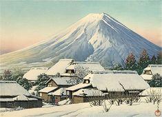 富士吉田|川瀬 巴水