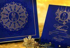 Blue Bell Wedding Card Designer Invitation By Vwi New Delhi