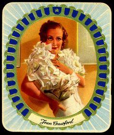 Cigarette Card - Joan Crawford | Flickr - Photo Sharing!