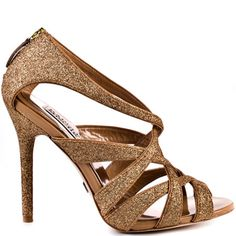Junebug - Rose Gold Glitter by Badgley Mischka