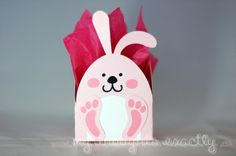 Bunny box. @Paper Crafter