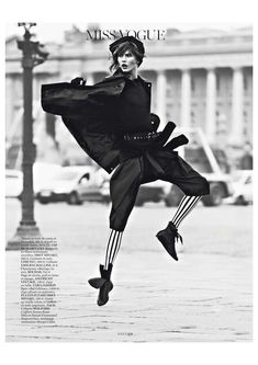 Karlie Kloss in 'Vogue Paris', March 2013 by Lachlan Bailey
