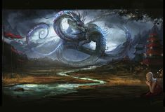 Shenlong the rainbringer by ~VampirePrincess007