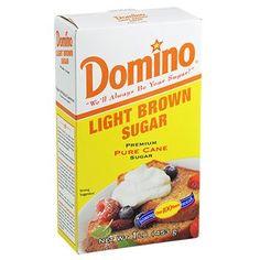 Domino Light Brown Sugar, 16-oz. Box