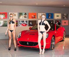 FERRARI & FASHION HIGH TEA | BLONDER AMBITIONS Ferraris. Fashion. A tea party. My idea of a perfect Tuesday.