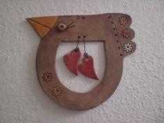Zamilovaný ptáček fishbowl in a cat Clay Birds, Ceramic Birds, Ceramic Animals, Clay Animals, Ceramic Clay, Ceramic Pottery, Clay Projects, Clay Crafts, Diy Clay