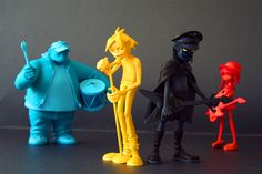 Gorillaz | Kidrobot want these! Can't believe they're £300
