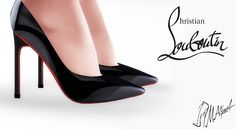 20mm Panent Leather Pumps by MrAntonieddu at MA$ims4 • Sims 4 Updates