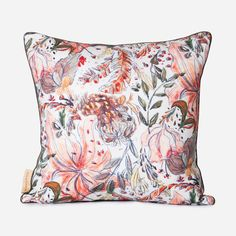 One of the quickest and most effective ways to instantly add colour and alter the mood of your interior. All our cushions are filled with white duck feathers, piped and have a concealed zip closure.