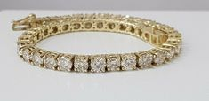 US $6,900  yellow gold 14k diamond tennis bracelet 10.25 ct round cut F VS1 CERTIFIED :-) #fashiocial #jewelry #TennisBracelet #DiamondsBracelet #Tennis #Bracelet #Round #Natural #Diamonds #Diamond #Loose #NaturalDiamonds #LooseNaturalDiamonds #NaturalLooseDiamond #LooseDiamond #WhiteDiamond #Cushion #Emerald #Heart #Marquise #Oval #Pear #Princess #Round #Fancy #CushionDiamond #EmeraldDiamond #HeartDiamond #MarquiseDiamond
