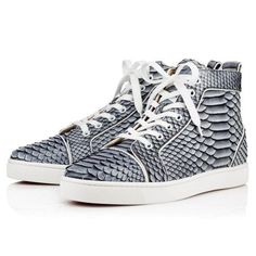 55ee9a82a4b5 Shoes - Louis Men s Flat - Christian Louboutin Painted Sneakers