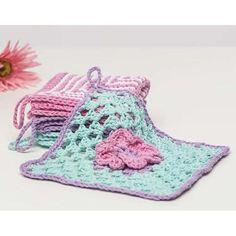 Premier® Spring Flowers Washcloth Free Download
