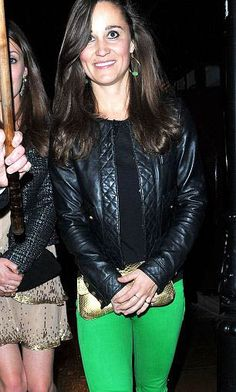 Pippa Middleton in Barbara Earrings by Olina P http://www.johannasimonds.com/collections/earrings/olina-p