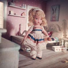 https://www.etsy.com/shop/ACuriousTwirl Nancy Ann doll Nancy Ann storybook doll Dollhouse Dollhouse dolls Shabby chic dollhouse  Antique doll Vintage doll Storybook doll
