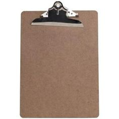 How to Decoupage a Clipboard  Needed -   Scissors, screwdriver, and wooden clipboard, Craft Glu