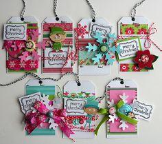 Cute tags by elizabeth Carney