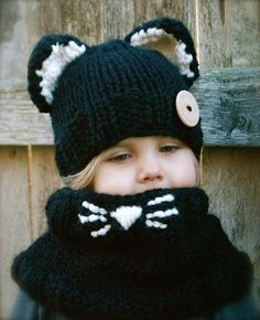 Caitlynn Cat Set hat