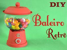 DIY Baleiro Retrô - Candy Machine