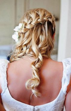 waterfall braid hairstyles for prom